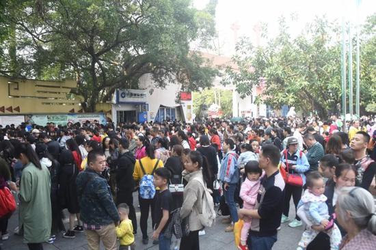 昨天有近4万人来到南宁这个地方 今天最后一天约吗